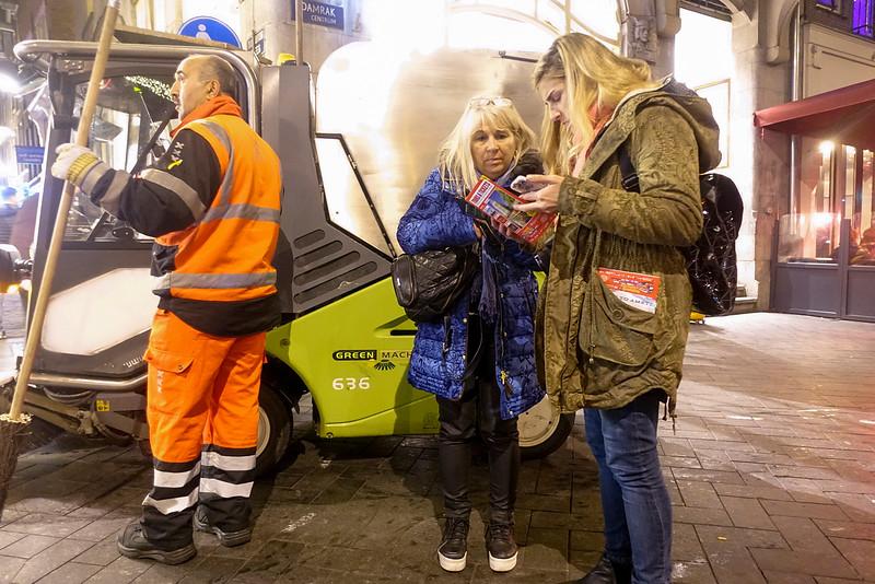 Nederland, Amsterdam,  25 oktober 2016, Damrak,  foto: Katrien mulder