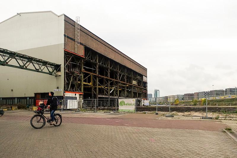 Nederland, Amsterdam, Oostenburgereiland, 27 oktober 2016, foto: Katrien Mulder