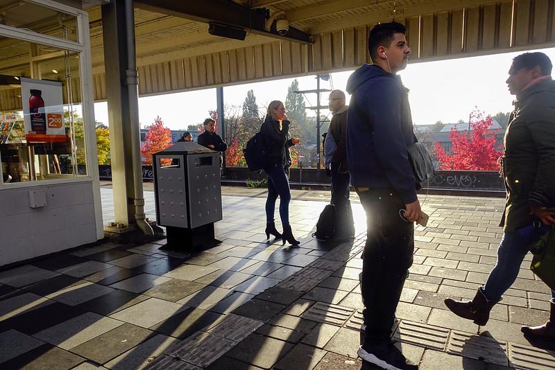 Nederland, Amsterdam,  Muiderpoortstation, 31 oktober 2016, foto: Katrien Mulder