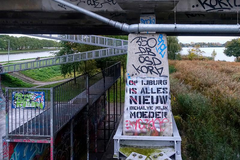Nederland, Amsterdam, 1 november 2016,  Zeeburg ; foto: Katrien Mulder
