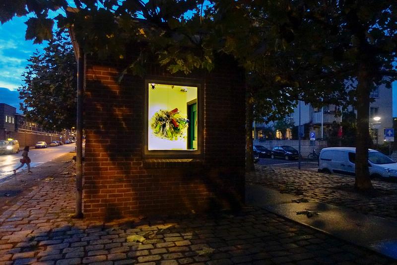 Nederland, Amsterdam, Cruquiusweg, Perron Oost, het kleinste museum van Amsterdam, 3 november 2016, foto: Katrien Mulder