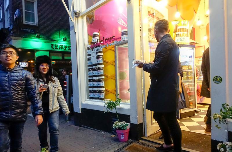 Nederland, Amsterdam, Nieuwmarkt, 4 november 2016, foto: Katrien Mulder