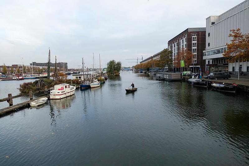 Nederland, Amsterdam, Zeeburgerkade, 4 november 2016, foto: Katrien Mulder
