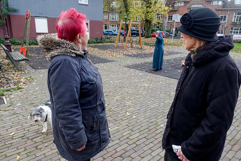 Nederland, Amsterdam, Amsterdam Noord, Vogelbuurt, 7 november 2016, foto: Katrien Mulder