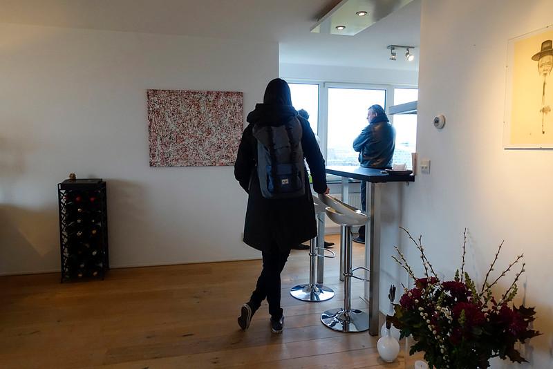 Nederland, Amsterdam, Oostelijk Havengebied, bezichtiging van ee koopwoning, 10 november 2016, foto: Katrien Mulder