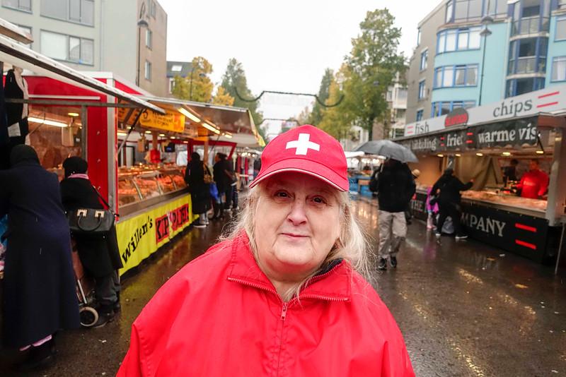 Nederland, Amsterdam, Amsterdam Oost, Dappermarkt, 14 november 2016, foto: Katrien Mulder
