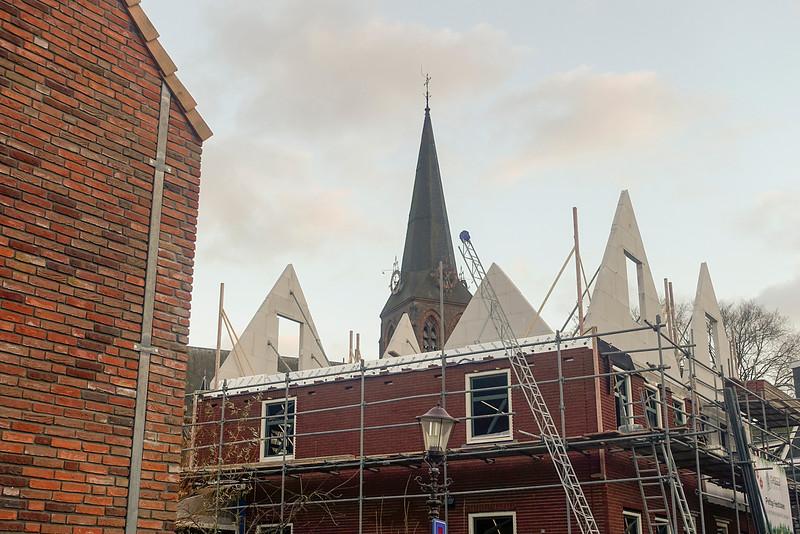 Nederland, Amsterdam, nieuwbouw Meerpad, bij Nieuwendammerdijk, 26 december 2016, foto: Katrien Mulder