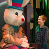 JOED VIERA/STAFF PHOTOGRAPHER- Lockport, NY-Junior Suarez 6 meets the Easter Bunny at the Palace Theatre.