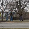 JOED VIERA/STAFF PHOTOGRAPHER- Lockport, NY-Believers participate in the annual Lockport Crosswalk.