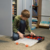 JOED VIERA/STAFF PHOTOGRAPHER- Lockport, NY-Josh Frank sorts through lego pieces at the Challenger Learning Center.