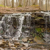 JOED VIERA/STAFF PHOTOGRAPHER- Lockport, NY-A Waterfall at the John B. Austin Nature Trail.