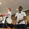 JOED VIERA/STAFF PHOTOGRAPHER- Lockport, NY-Younger soldiers perform with Timbrels during the Salvation Army's Open House.
