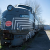 JOED VIERA/STAFF PHOTOGRAPHER-Medina, NY- An old New York Central System locomotive is stationed  at the Medina Railroad Museum.