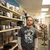 JOED VIERA/STAFF PHOTOGRAPHER- Lockport, NY-Joshua Lopez inside his shop.