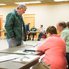 JOED VIERA/STAFF PHOTOGRAPHER- Lockport, NY-According to Inspectors South Lockport Fire Company hosted a higher number of voters than usual.
