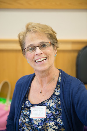 """1.)""""Financially it gives me a little extra money but i enjoy the people and i enjoy doing it."""" 2.) """"We've Had more people, This particular primary is important to people.""""-Peggy Shea-Robichaud"""