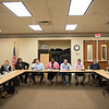 JOED VIERA/STAFF PHOTOGRAPHER- Lockport, NY-A Rotaract meeting at the Lockport Public Library.
