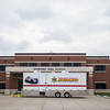 JOED VIERA/STAFF PHOTOGRAPHER- Pendleton, NY-Starpoint High School hosts Niagara County Sheriff's new driving simulator.