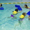 JOED VIERA/STAFF PHOTOGRAPHER- Lockport, NY-Kids learn to swim at the YMCA.