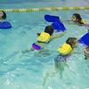 JOED VIERA/STAFF PHOTOGRAPHER- Lockport, NY-Kids learn to swim at the YMCA.