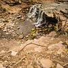JOED VIERA/STAFF PHOTOGRAPHER- Lockport, NY-A Waterfall at the John B. Austin Nature Trail.