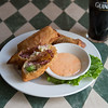 JOED VIERA/STAFF PHOTOGRAPHER- Lockport, NY-The Corn Beef and Cabbage Eggrolls at Ennis' West End Tavern.