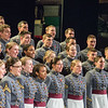JOED VIERA/STAFF PHOTOGRAPHER- Lockport, NY-The West Point Glee Club performs at the Palace Theater.
