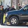 JOED VIERA/STAFF PHOTOGRAPHER- Lockport, NY-Suspects in a robbery that occured on Saxton Street and Lagrange Street are searched by Lockport Police and Niagara County Sheriffs Deputies.