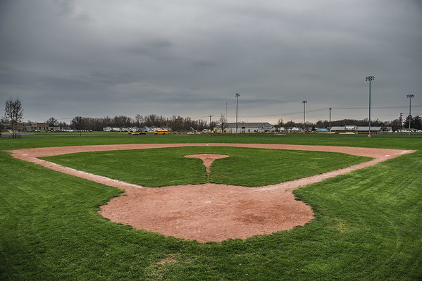 JOED VIERA/STAFF PHOTOGRAPH-Baseball diamond at Outwater Park.