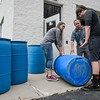 JOED VIERA/STAFF PHOTOGRAPHER- Newfane, NY-Newfane High School students make Rain Barrels.