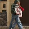JOED VIERA/STAFF PHOTOGRAPHER- Lockport, NY-CWA members picket outside of the Verizon building on Walnut Street. Wednesday marks the begining of the third week the union has been on strike. Reportedly close to 800 Western New York workers have been out of work since the strike began on April 13.