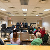 JOED VIERA/STAFF PHOTOGRAPHER- Pendleton, NY-Residents attend a Red Cross preparedness meeting at Pendleton Town Hall.