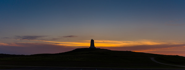 Sunset Over The Wright Brothers Memorial