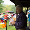 JOED VIERA/STAFF PHOTOGRAPHER-Somerset, NY-Town of Yates Supervisor Jim Simon spoke in opposition of the installation of the windmills in Somerset. Close to 500 people gathered to protest the installation.
