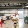 JOED VIERA/STAFF PHOTOGRAPHER-Lockport, NY-  Jerry Hace stands at Gooding Co. Inc.