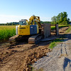 JOED VIERA/STAFF PHOTOGRAPHER-Cambria, NY- Construction continues on Subbera Road.