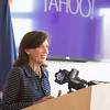 JOED VIERA/STAFF PHOTOGRAPHER-Lockport, NY- Lt. Governor Kathy Hochul announces the recipients of Yahoo's Community Fund for Niagara County.