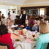JOED VIERA/STAFF PHOTOGRAPHER-Lockport, NY-  Attendees eat lunch during Girl Proper at Lockport Country Club.