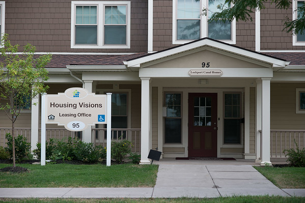JOED VIERA/STAFF PHOTOGRAPHER-Lockport, NY-Housing Visions on Locust Street.