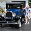 JOED VIERA/STAFF PHOTOGRAPHER-Lockport, NY-Joseph Kurtz stands by his Buick.