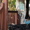 JOED VIERA/STAFF PHOTOGRAPHER-Lockport, NY-  The remains of a house involved in a fire early Friday morning on Grand Street.