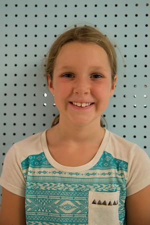 """Going on my trampoline"" -Samantha Grzebinski, 7"