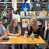 JOED VIERA/STAFF PHOTOGRAPHER-Lockport, NY- Kevin Costello, 15, Emily Kush, 14, Rachael Miller, 14, and Mason Bowes, 14 hang out after school at Pulp 716.