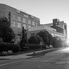 JOED VIERA/STAFF PHOTOGRAPHER-Lockport, NY-   The sun rises over Roswell Park Institute the morning of Katie Jo Perry's surgery.