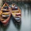 JOED VIERA/STAFF PHOTOGRAPHER-Lockport, NY-  Boats sway from the current in the Flight of Five Wednesday Morning.