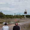 JOED VIERA/STAFF PHOTOGRAPHER-Gasport, NY-  ATF trainers set off a blast demonstration at the Lafarge quarry in Gasport.