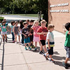 JOED VIERA/STAFF PHOTOGRAPHER-Lockport, NY- Students walk back into George M. Southard Elementary School after a fire drill on Friday.