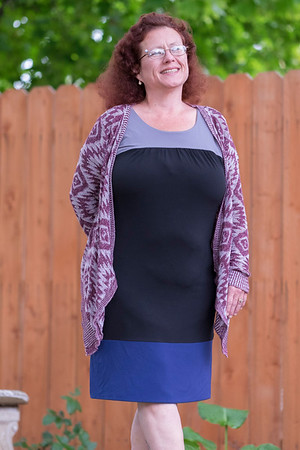 JOED VIERA/STAFF PHOTOGRAPHER-Lockport, NY- After Bariatric surgery Bonnie Bergeron has found a new passion for modeling.