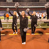 JOED VIERA/STAFF PHOTOGRAPHER-Orchard Park, NY-Spartans cheerleaders pump up Starpoint football fans.
