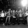 JOED VIERA/STAFF PHOTOGRAPHER-Lockport, NY- Lockport High School sophmores hold their newly awarded Academic Ls during the convocation ceremony inside the School's auditorium.